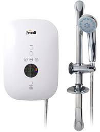 Bình nóng lạnh trực tiếp Ferroli DIVO SDP điện tử có bơm