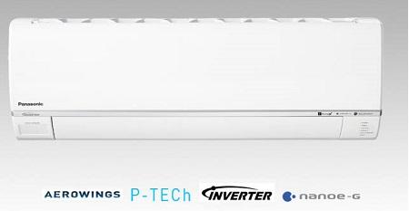 Điều hòa Panasonic 1 chiều 9000btu inverter Gas R32 Cs/Cu-U9SKH-8